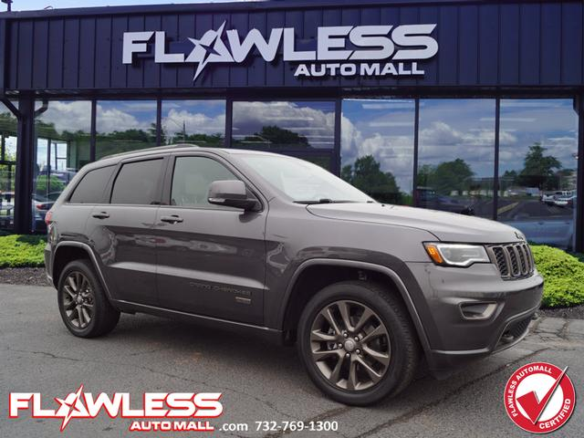 Pre-Owned 2017 Jeep Grand Cherokee Limited 75th Anniversary