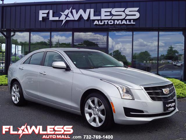 Cadillac 2.0 T >> Pre Owned 2016 Cadillac Ats 2 0t Awd